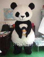 New Style Cosplay Panda Mascot Costume Cartoon Fancy Suit