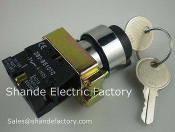 Schneider key switch XB2-BG series,free shipping