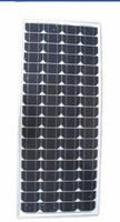 Factory Supply 120w monocrystalline solar panel /solar module for 12v battery