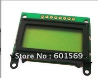 8x2 character LCD modules with LED backlight yellow-green 0802A