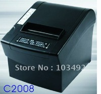 Half cut 80mm Black thermal receipt printer