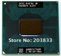 Intel CPU T9600 SLB47 2.8GHz 6M 1066 for laptop