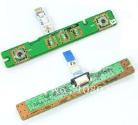 Free shipping Power Button Board + Ribbon 48.4W004.011 For Dell 1525