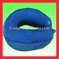 Vibrating massage pillow with music