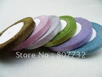 Colored ribbon, 1cm width, 23m length, giftbox tape, shipping free,wholesale