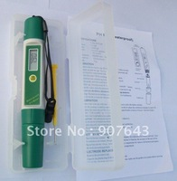 Super range PH meter pen type ph meter portable ph meter Free shipping