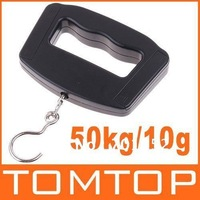 50kgx10g 50kg/10g 50kg-10g Mini Weighing Hanging Luggage Digital Scale,with retail box, freeshipping, dropshipping wholesale