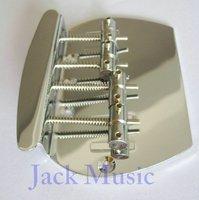 High quality Apple style 4-string Bass bridge/guitar bridge Chrome (Popular style)