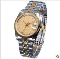 Free Shipping Men's Quartz Stainless Steel Automatic Mechenical Wrist Watch