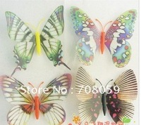 Thickening type new luminous butterfly simulation butterfly plush toys wholesale, Yiwu commodity wholesale