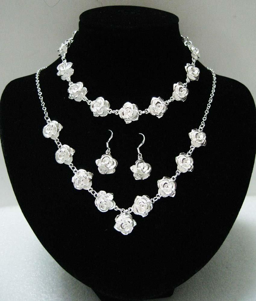 Shipping 925 silver jewelry set fashion silver jewelry jewelry set