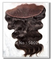 "#1b Color Indian Remy Hair Lace Frontal Body Wave (4""x13"")"