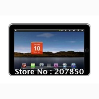 Freeshipping:10.2 Tablet PC/MID-Android 2.2-1GHz-256MB-2GB-Support External 3G-Bluetooth-1080P Video(ZT180 Dual Core-Resistance)