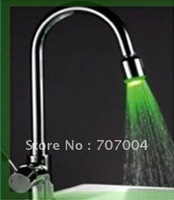 LED kitchen faucet, 3 color, wholesale, retail
