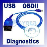 USB Cable Car Diagnose tool KKL VAG 409.1 For VW/AUDI OBD2 OBD OBDII COM Scanner Drop Shipping B26 1737