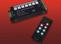 led RF rgb controller,CT326RF;5A*3 channel output,DC12-24V input