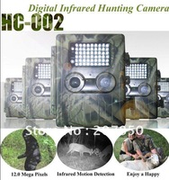 Free!!!Hunting Camera HC-002-2.5 Inch TFT Screen - 2.0 Megapixels - 54 LED Lights - Infrared Motion Detection - 3 Weeks Standby