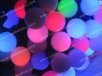 10sets RGB Led String light RGB Ball led String lights outside LED Decorative lights IP44 LED String light,Christmas light