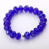 Free shipping by HK post! Wholesale crystal charm bracelet .fashion bracelet.925 sterling silver jewelry IMG9391