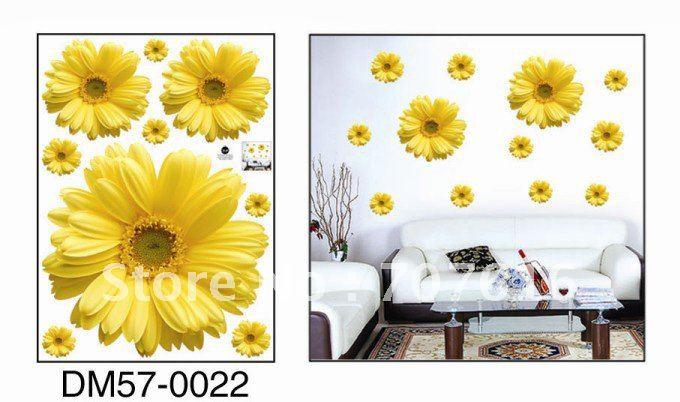 ... -Wall-Decals-Big-Flower-Wall-Stickers-High-Quality-10pcs-lot.jpg