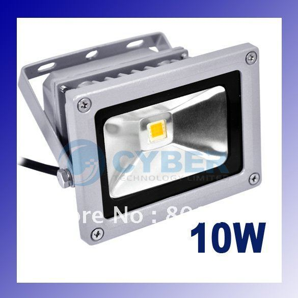 10W 85-265V High Power Flash Landscape Lighting LED Wash Flood Light Floodlight Outdoor Lamp Retail & Wholesale 871 872(China (Mainland))
