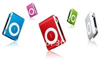Wholsale hot sale Clip Mp3 player with card slot mini mp3 player free shipping 50pcs/Lot