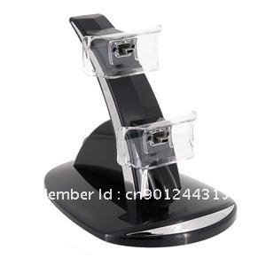 GT Coupe JM-340 Controller Charging Stand for PS3 (Black)(China (Mainland))