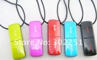 Free shipping Wholesale necklace mp3, cheaper Mp3 player with 4GB/2GB 50pcs/Lot