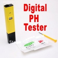 Digital pH Tester Meter pen type pH Tester Free shipping