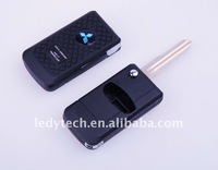 HOT! Mitsubishi Grundy 3 buttons flip remote key casing
