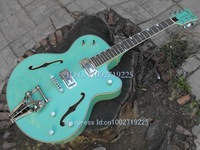 NO case CUSTOM Green Electric Guitar  A1(47)