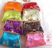 Silk purse, tapestry, zero purse. Purse Chinese Silk Pouch Purses Jewelry Coins bag