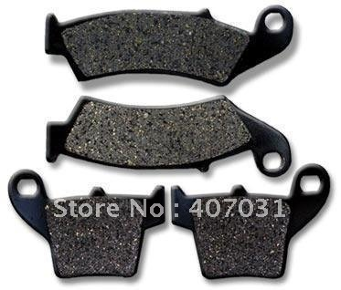 HOND A FR+R Brake Pads CR CRF 125 250 450 CR250 R CRF250(China (Mainland))