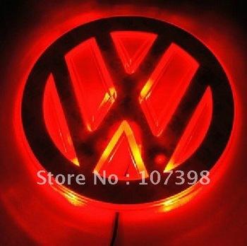 option one,car logo light for VW Superb,car badge light,auto led light,auto emblem led lamp