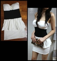 M86558 Sexy sleeveless short ladies dress