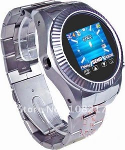 Free Shipping! MQ888 Unlocked watch cell phone 1.5 inch Touch Screen GSM Mobile Watch Phone quadband Wholesale from china
