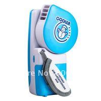 Air conditioning fan mini USB Battery Air Cooler portable Water Mist Fan Snowman home Appliances