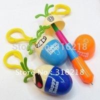 Creative pen/Smiling face stretch pen/ cartoon pen /eggs pen free shipping