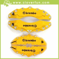4PCs YELLOW Brembo Look 3D Brake Caliper Cover per SET Front,Rear