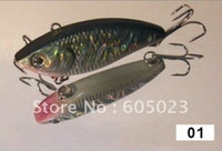 wholesale 250pcs/lot Top Quality in Japan fishing lure 40mm plastic minnow fishing baits(5 colors)