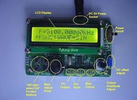 F29A SG1005 5MHz DDS Function Signal Generator Source with 60MHz Frequency Counter DDS Module