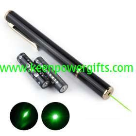 10mW 532nm Green Laser Pointer Pen (2*AAA included)(China (Mainland))