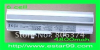 Free shipping&White-6cell New Battery For MSI Wind U100 U90 U90X BTY-S12 BTY-S11