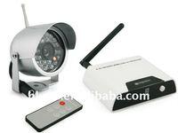 wireless camera kit/2.4Ghz wireless camera/wireless receiver one night vision camera WRC810+WCM7061
