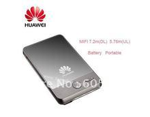 Hot-selling free shipping HUAWEI E583C original brand new unlocked 3G MIFI hotspot portable battery router(China (Mainland))