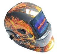 AU LOCAL SHIPPING 3.86x2.17 Auto darkening Welder welding grinding helmet Red NEW