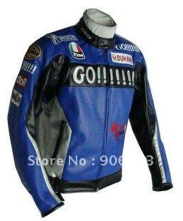 Free sample DUHAN Rossi 46 men's motorcycle jacket motorcycle racing jacket PU leather mot ...
