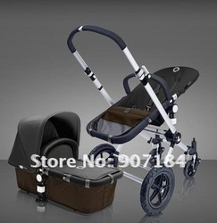 2-in-1 travel system baby stroller/pram/baby travel products/european stroller/bugaboo part Good Discount from 3 pcs(China (Mainland))