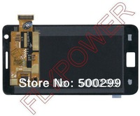 For Samsung Galaxy S2 i9100 lcd screen and touch screen assembly by free shipping; Black color; 100% warranty