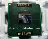 Free shipping + Laptop cpu  S-L-A-Y-Y Intel Core 2 Duo Mobile T-9300